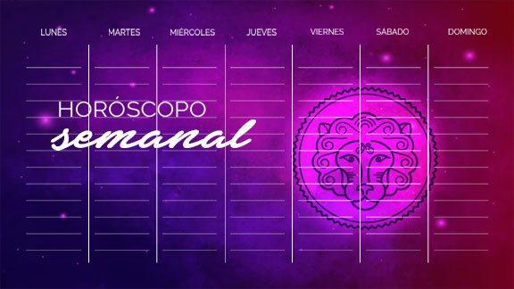 Horóscopo Leo semanal- leohoroscopo.com
